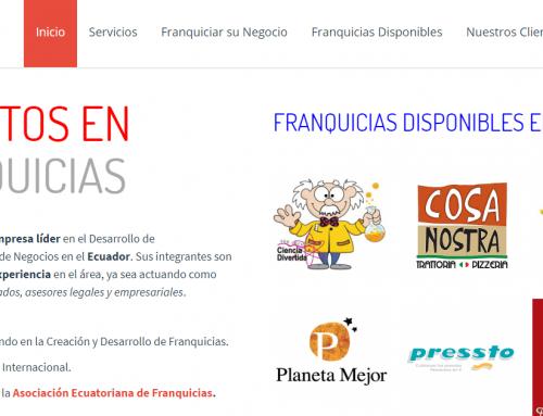 Ecuafranquicias lanza su nuevo sitio web