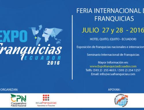 EXPOFRANQUICIAS ECUADOR 2016